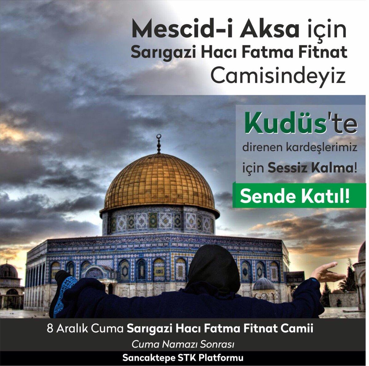 #MüminlerinBaşkentiKudüs https://t.co/Ei...