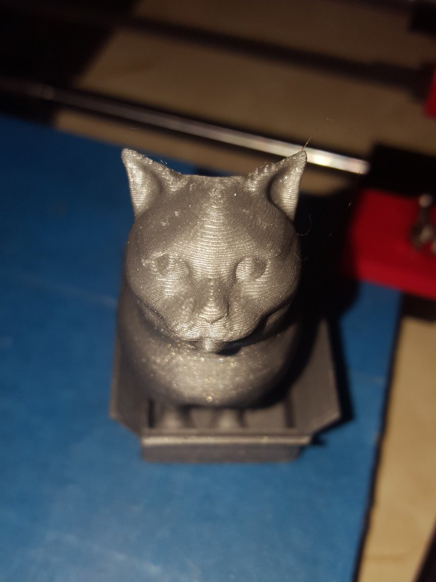 Little #adoptabot by @printrbot didn't do a bad job of @loubie_3D  #Schrodinky  ...