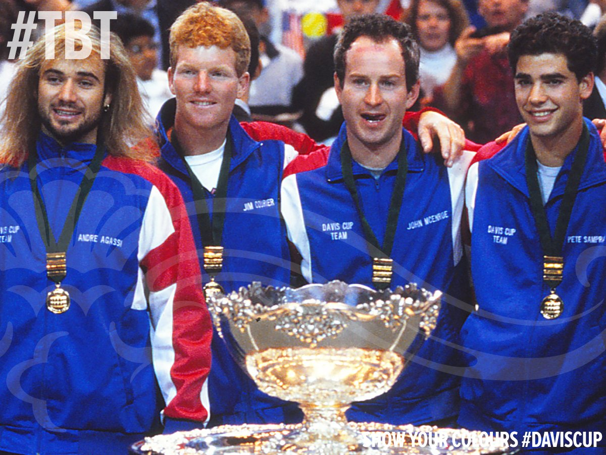 """Davis Cup on Twitter: """"Is the 1992 #DavisCup winning team the ..."""