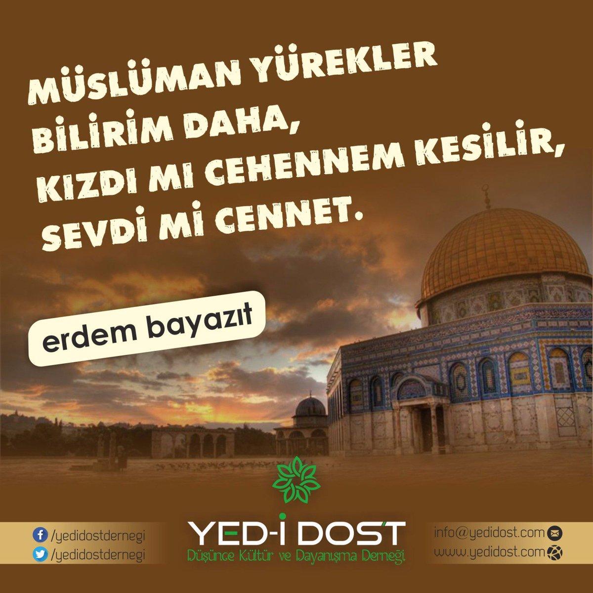 RT @iksbayan: #islamDünyasıUYAN  #KudüseSahipÇık https://t.co/9aNYv847Dq