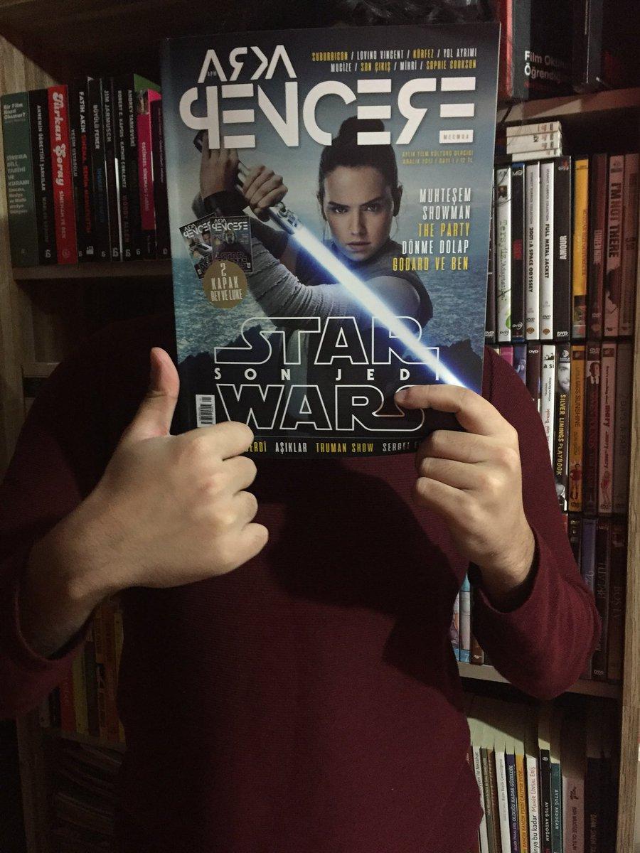 basılı bir sinema dergimiz daha var artı...