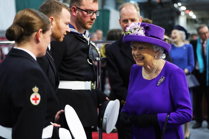 Full story: Her Majesty The Queen welcom...
