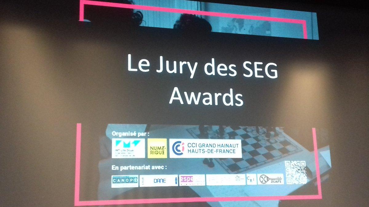 #SEG2017 Afin de clore cette belle journée, remise des prix !  C'est formidable @IsabellePatroix ! @Grenoble_EM @serrenumeriquepic.twitter.com/00WagqQEsD