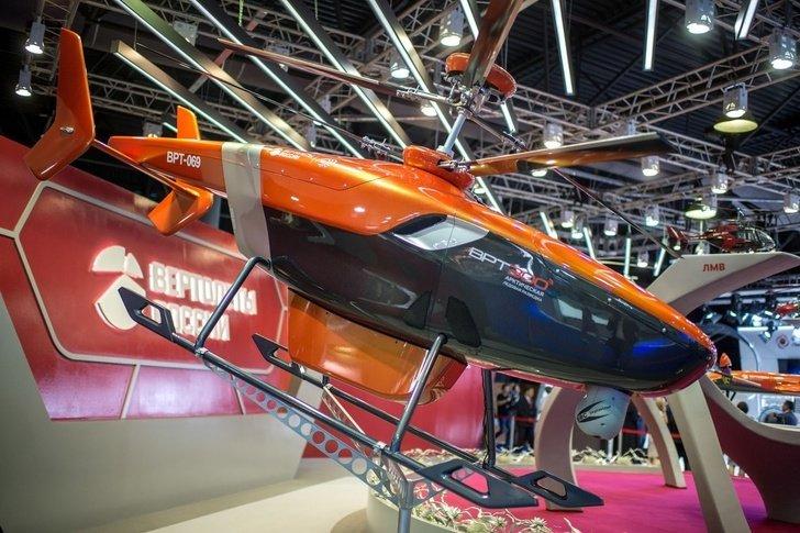 """شركة """"مروحيات روسيا"""" تعرض المروحية بدون طيار """"VRT300"""" DQdIHRVUQAA2Cs6"""