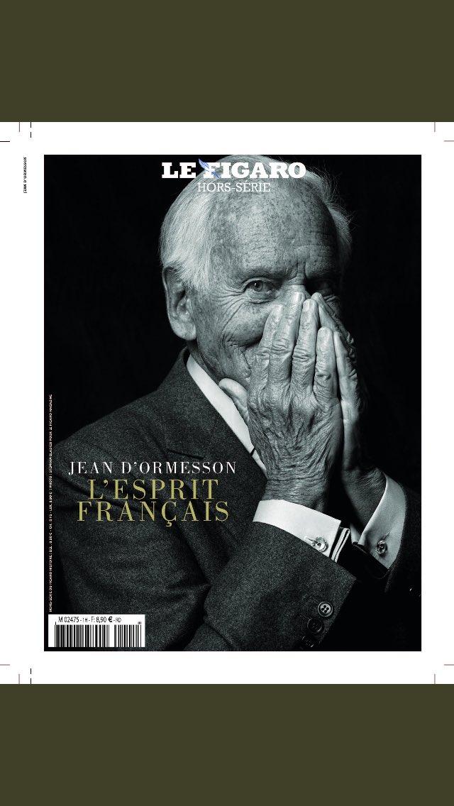 Un autre hors série, de @Le_Figaro, à rajouter à votre liste de lecture @claireverneil #JeanDOrmessson