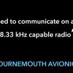 The Clock is Ticking! as the deadline approaches for 8.33 compliance, Bournemouth Avionics has some of the most competitively priced 8.33kHz products! visit our online store now: https://t.co/RmcuN0wFIm #avionics #pilot #aviation #Planes #garmin #icom #yaesu #trig #avidyne