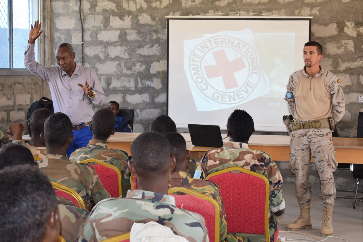 #EUTMS #SOMALIA and ICRC together for im...