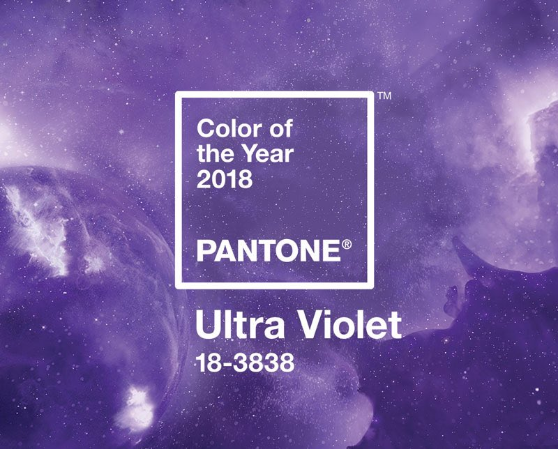 Pantone has announced the Colour of the Year 2018 and it is Ultra Violet 18-3838 pantone.com/color-of-the-y… #Pantone #UltraViolet #Design