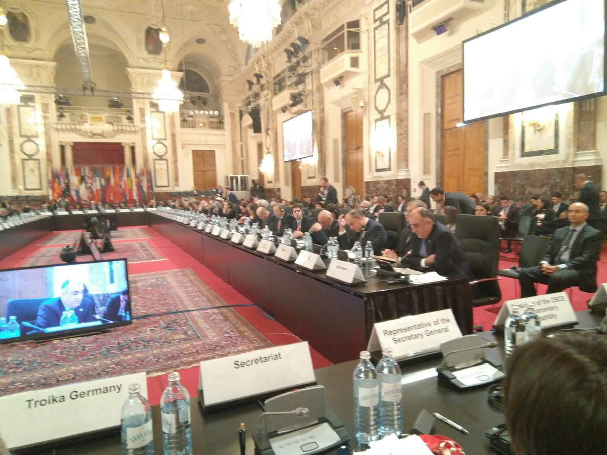 Statement by Mr. Elmar #Mammadyarov, Minister of Foreign Affairs of the Republic of #Azerbaijan, at the #OSCEMC17 https://t.co/zkFOJGkaeD