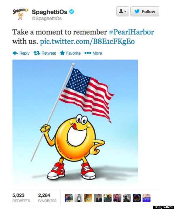 #NeverForget #PearlHarbor #SpaghettiOs #12/7/13 https://t.co/EBfiYok3qH