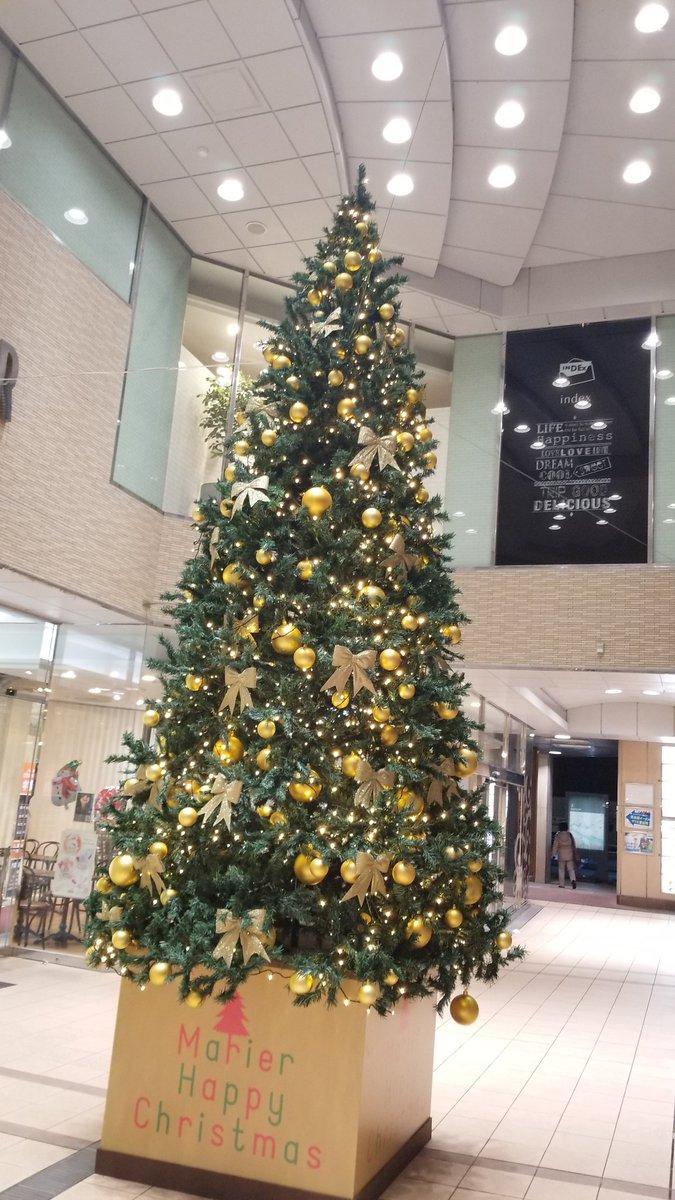 今夜の寝床に着く前に 富山駅を散歩🚉🚶…  どこもかしこも ツリーだらけだ✨🎄✨  そろそろ寝まぁ~す😪✋ おやすみ野菜🌽🍅  #クリスマスツリー #christmastree #富山駅 #toyama #ホテル泊まり #散歩 #出張
