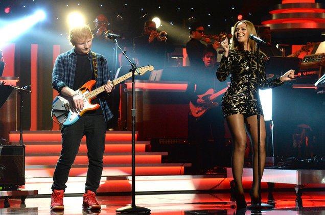.@edsheeran & @Beyonce's 'Perfect' = No. 1 on @billboard #Hot100 next week? https://t.co/0qkqJC0B8k