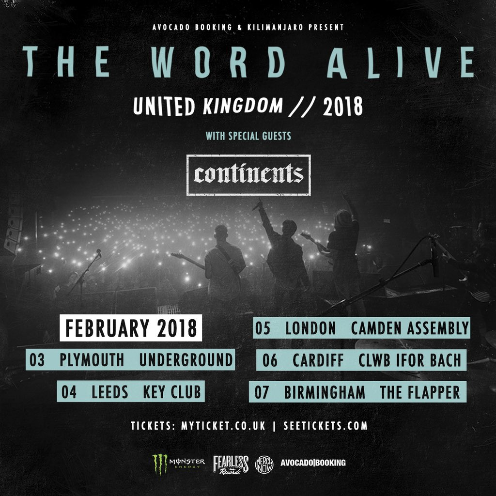 THE WORD ALIVE on Twitter:
