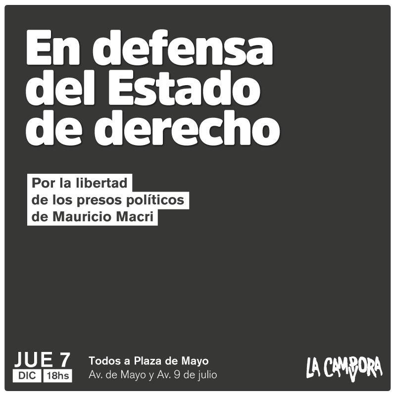 RT @OkAlzamendi: #BonadioEsMacri #BastaDePerseguir https://t.co/h9hYrOotxZ