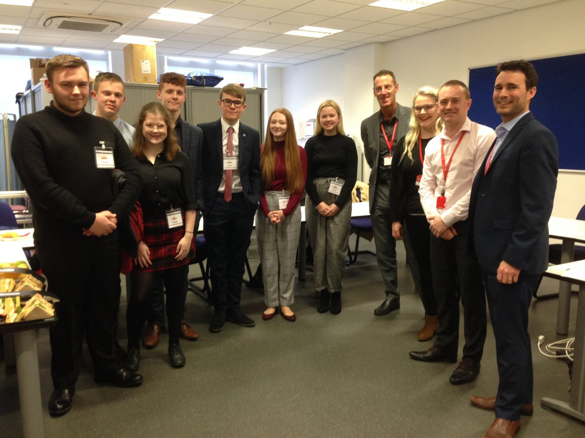 Great afternoon @RoyalMail with our students from @Rodillian_Ac #ACapitalExperience