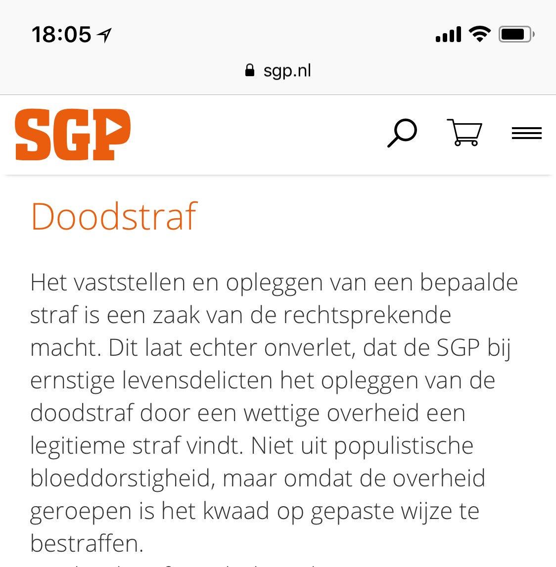 RT @brechtjedeleij: En de #weekvanhetleven aldus de SGP.   Oh wacht.. https://t.co/Pg1yyeWWTO