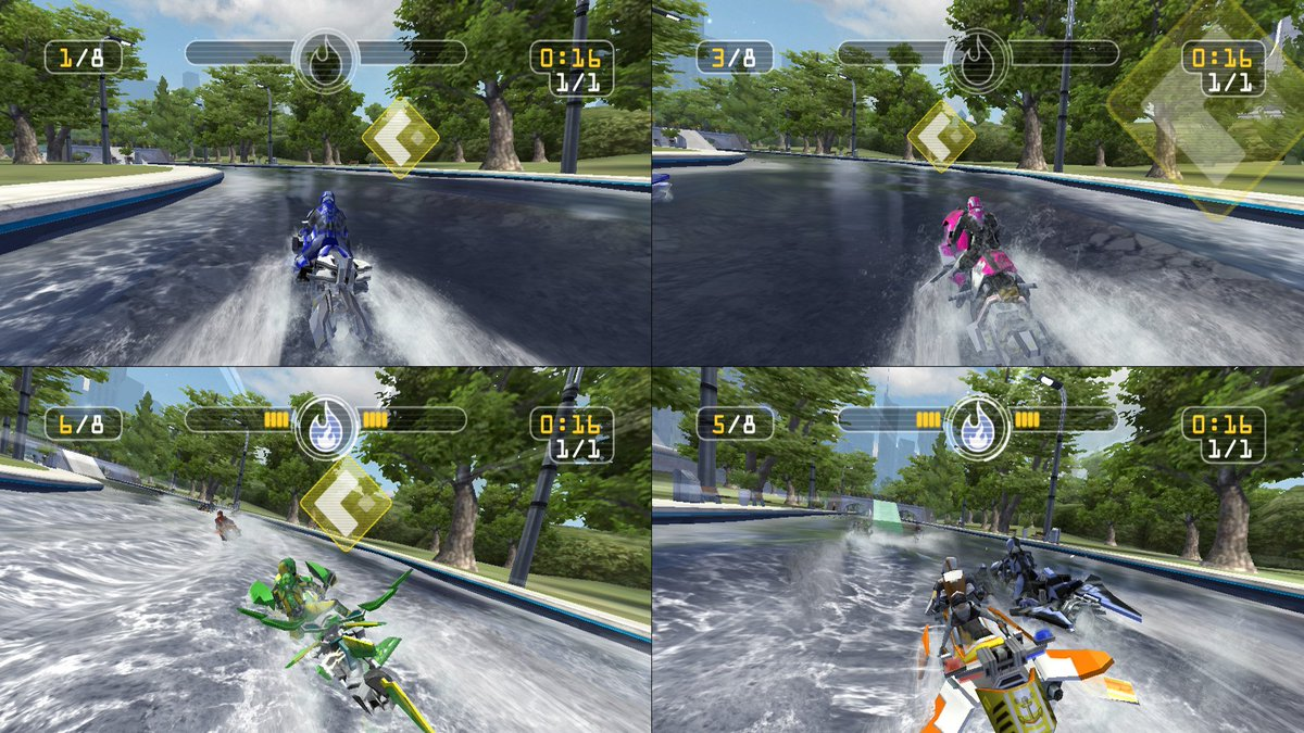 Vector Unit On Twitter Riptide Gp Renegade Is Now Available On Nintendo Switch Play Cross Platform Online Multiplayer With Steam Pc 4 Player Split Screen Races And 8 Player Online Multiplayer Buy It From Https T Co Pfda9j7hkq