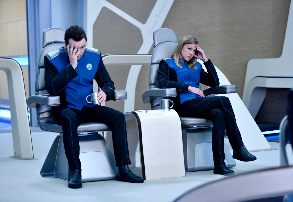 It's the epic season finale of THE ORVILLE - tonight at 9/8c on Fox!