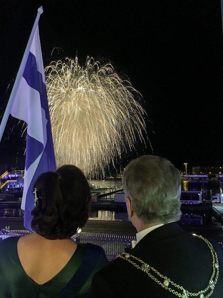 Kiitos upeasta #Suomi100-vuodesta. Yhdessä myös kohti seuraavaa vuosisataa!