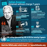 As of today @JulianAssange has been detained without charge in the UK for 7 years. The First Amendment means he can't be prosecuted for publishing without the same theory being applied to all journalists. So why is the US grand jury on WikiLeaks ongoing? https://t.co/KQIg7KK2RG