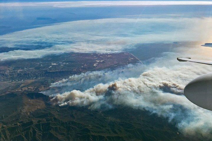 Smoke Over Southern California https://t.co/e7VBSHm4Lk #NASA