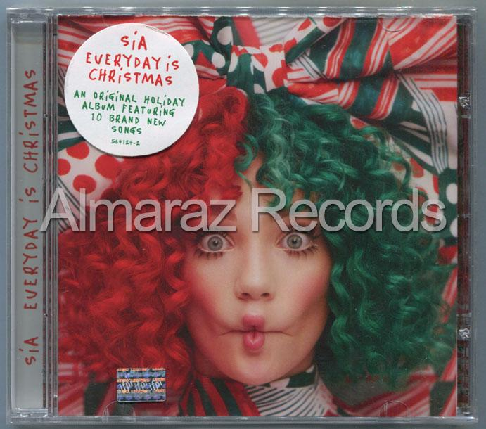 Everyday Is Christmas.Almaraz Records On Twitter Sia Everyday Is Christmas Cd