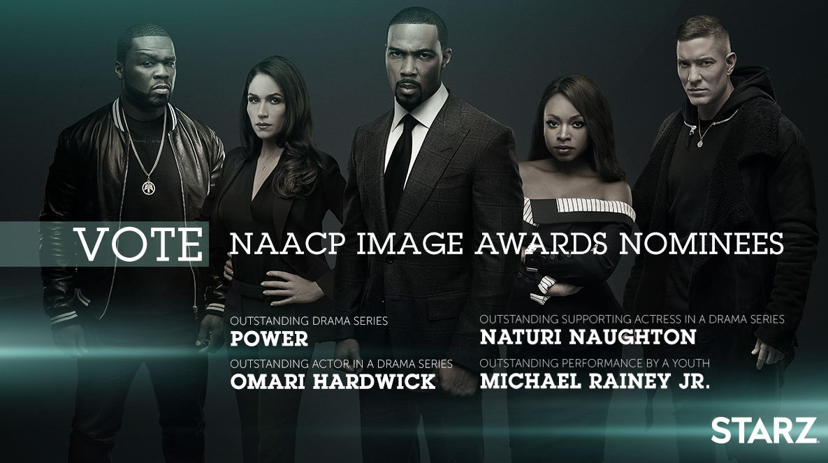 Make Sure you Vote for POWER !!  #PowerTV