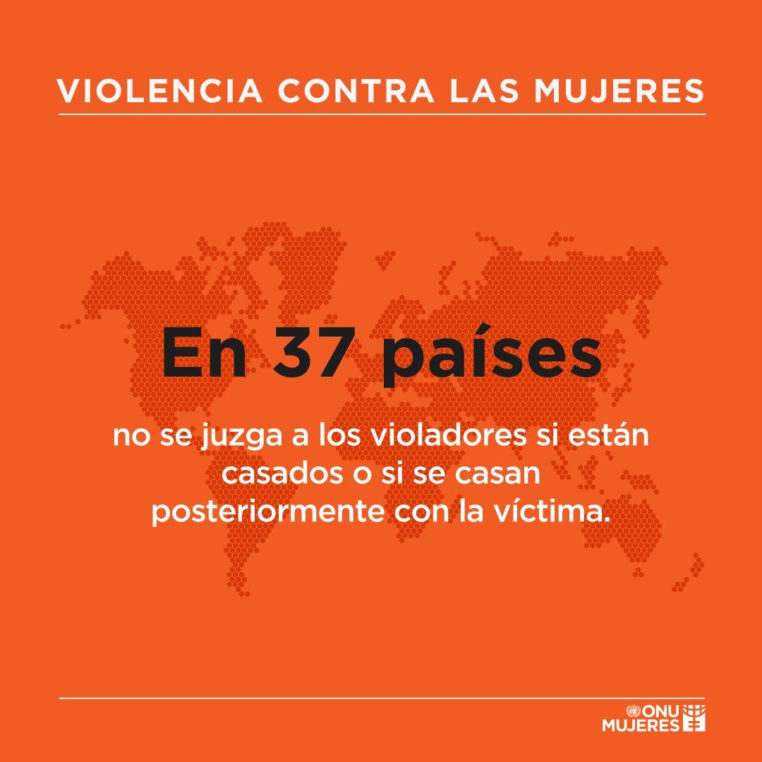 ¿Sabes por qué en 37 países no se juzga a los violadores?