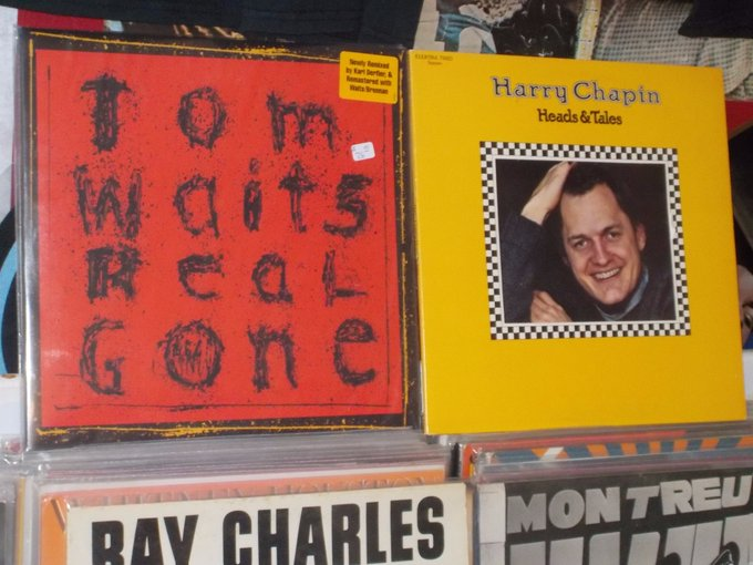 Happy Birthday to Tom Waits & the late Harry Chapin