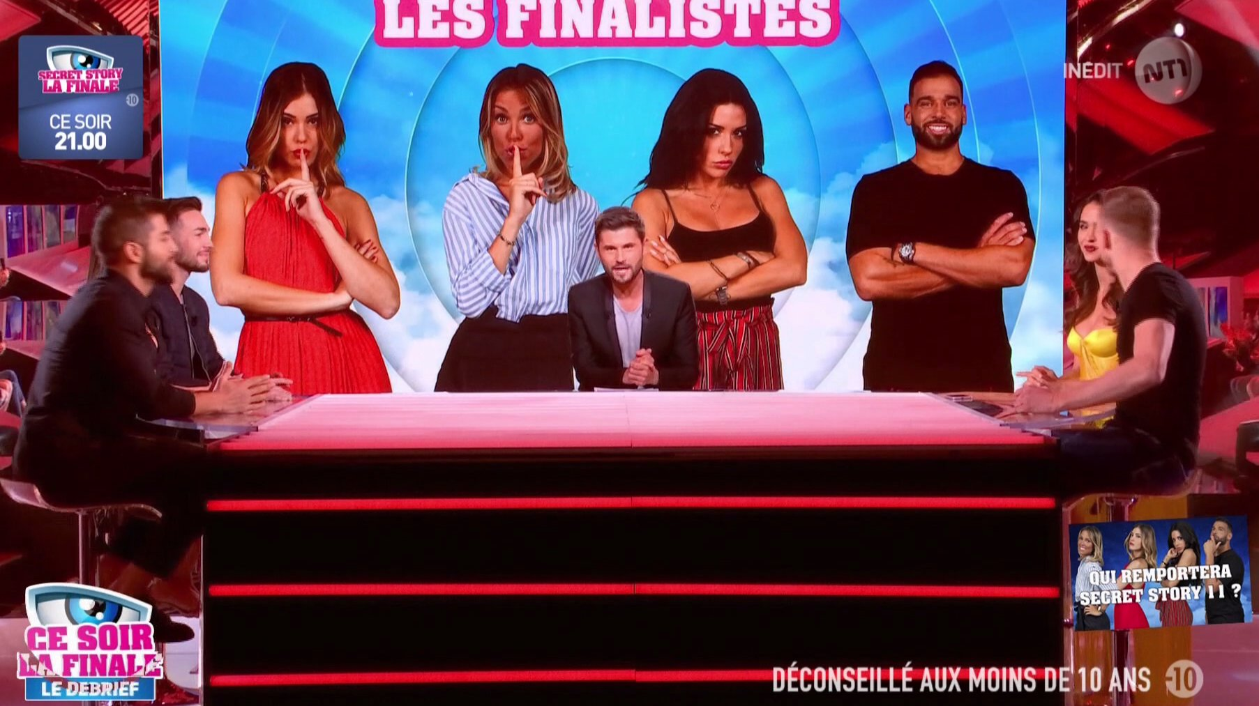 RT @SecretStory_TF1: #SS11 Une table d'exception ce soir autour de @Tof_Beaugrand !! https://t.co/l6LjdUQ3ur