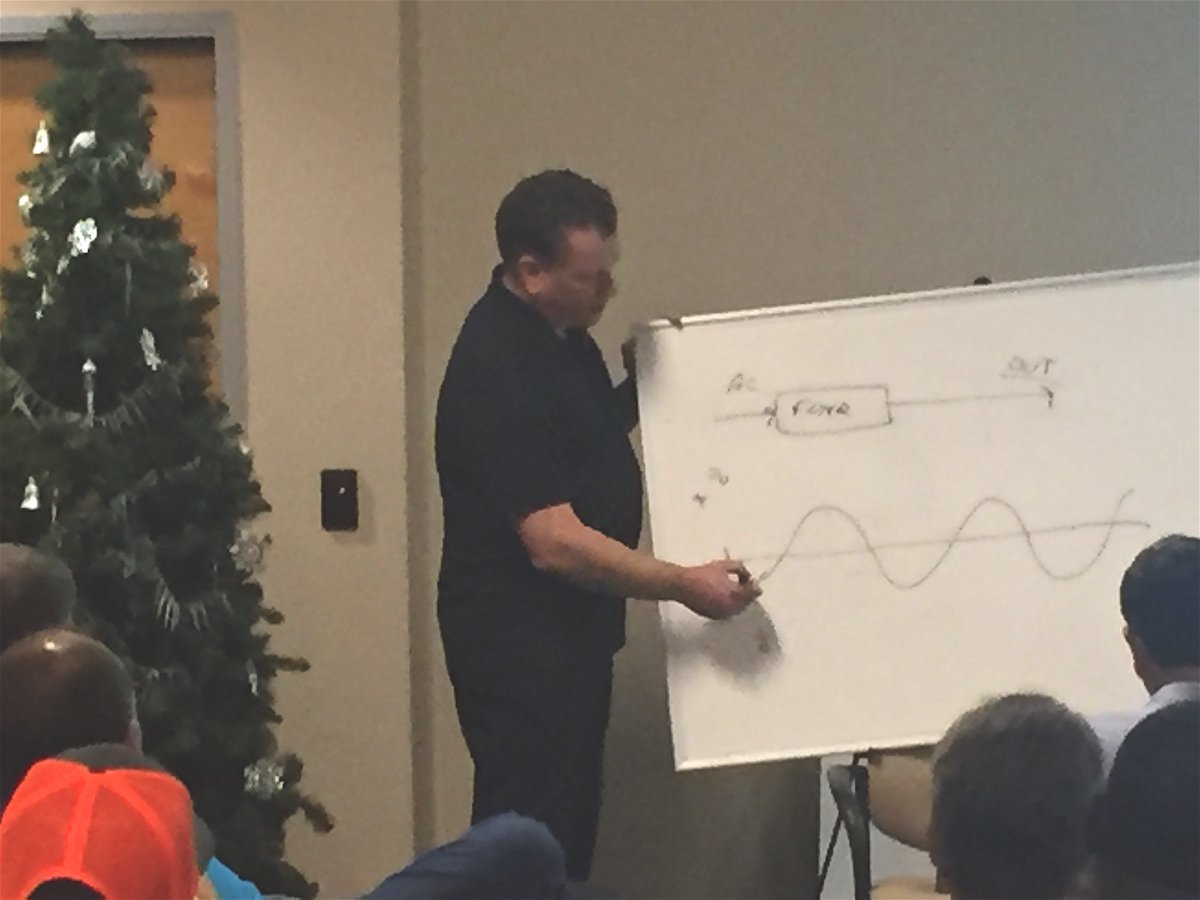 Some days you just forego all the fancy slides &amp; use the erase board. Our inventor, Dan Sisson, talking about #Green #BatteryBackup with a group of super smart #traffic engineers &amp; technicians. #THISisITS #SmartCities #NickelZinc #NOleadacid<br>http://pic.twitter.com/70V1eB0Axj