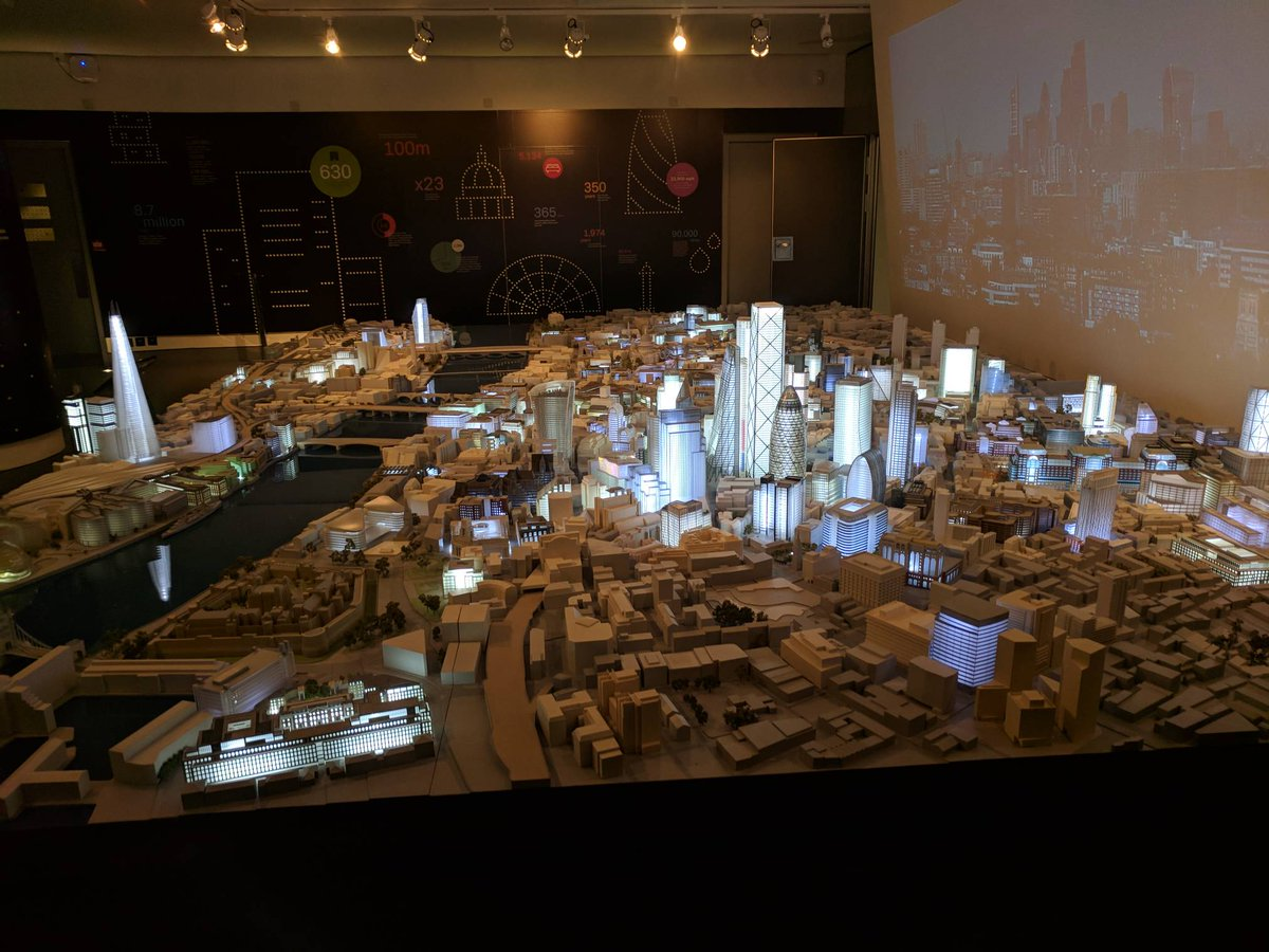 Amazing model of #London at @The_CityCentre #smartcities event <br>http://pic.twitter.com/w8TPTIThHu