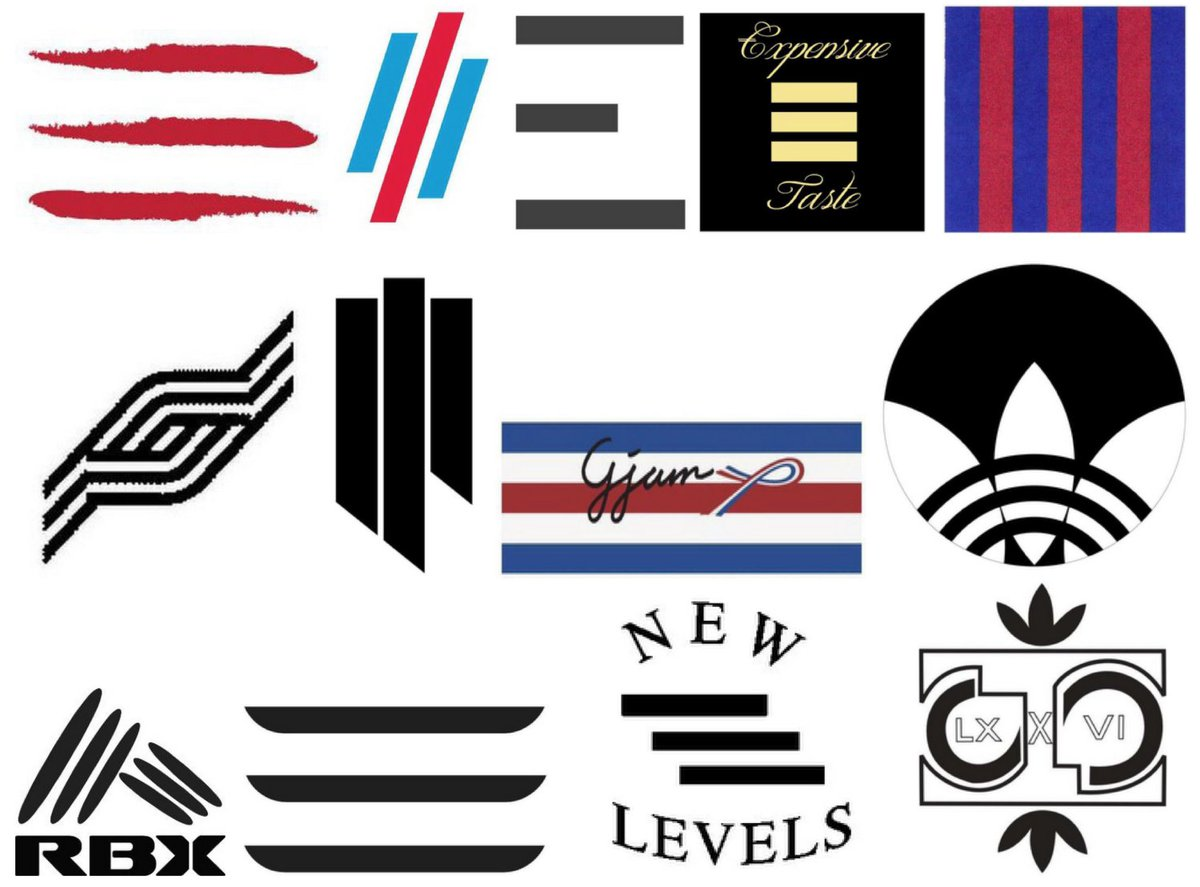 Here are a bunch of the trademarks adidas thinks are too similar to its 3-stripe mark. https://t.co/TcAgwfKf4H