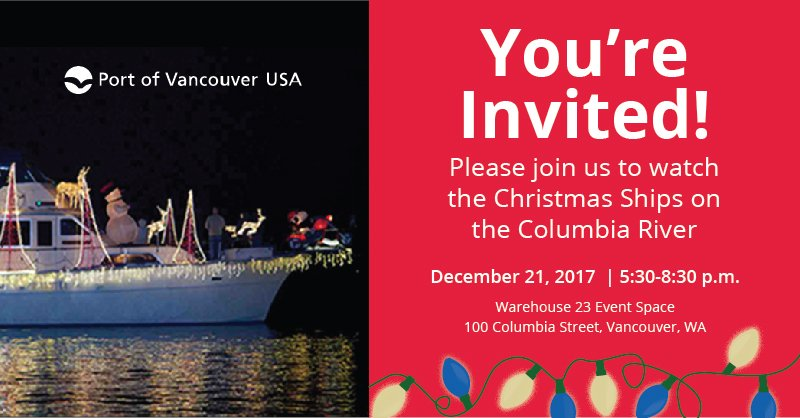21 for holiday family fun and christmas ships viewing on the columbia river get more details httpowlyopnn30h57td