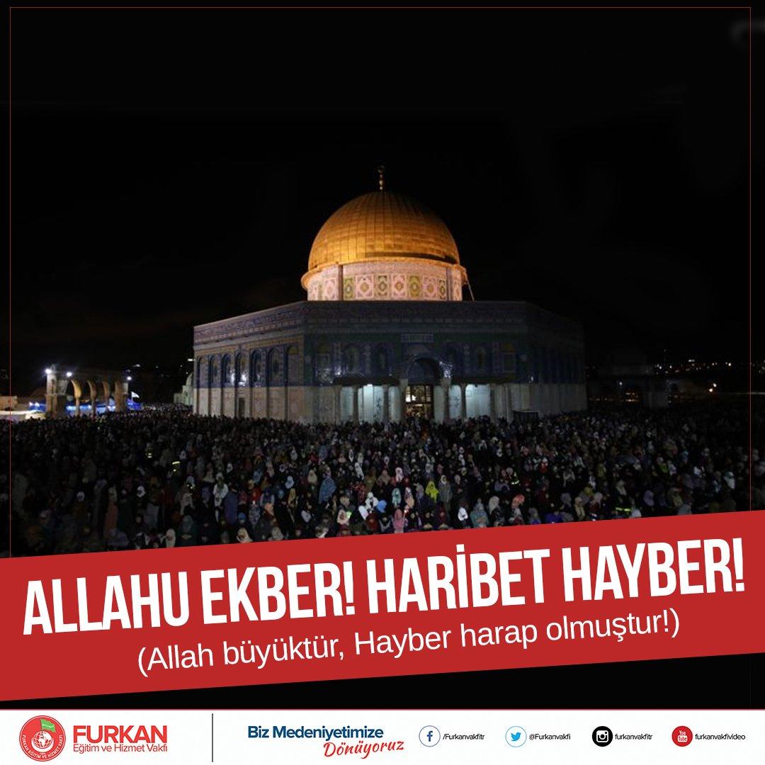 #MüminlerinBaşkentiKudüs Allah'ın evi es...