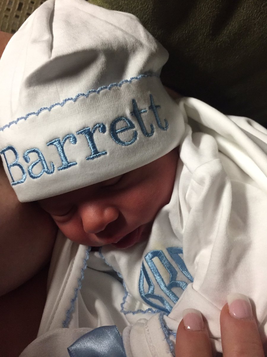 Im so happy to announce that our handsome son, BARRETT BENJAMIN REED was born yesterday at 11:42am! Justine & Barrett Benjamin are doing great! Thanks so much for the well wishes!