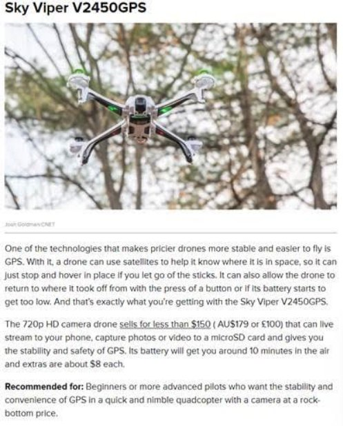 And the holiday coverage continues….check out the latest from @cnet!  #StayFly🚀 #drones   https://t.co/b86Rx5wHCF https://t.co/iPv3WCVhU0