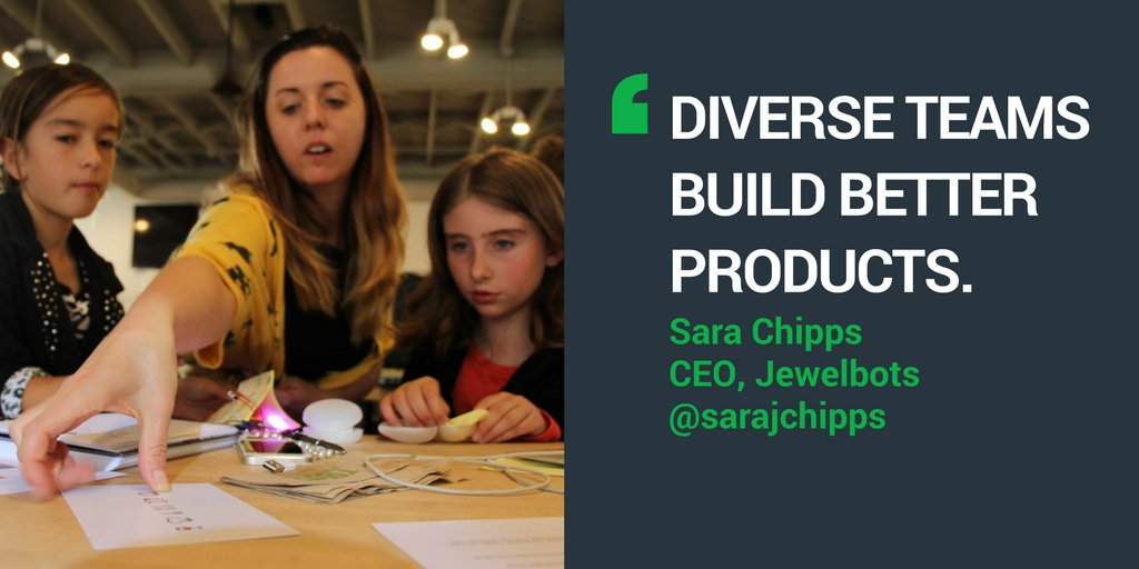 .@SaraJChipps, CEO of @jewelbots (Techstars Class 62) was featured on @PBS! Watch the special about her: https://t.co/Nz3OkMHp8S