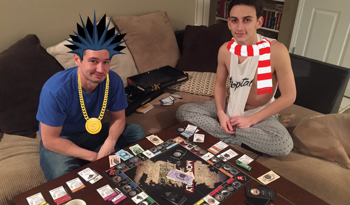 """Mickey Knox on Twitter: """"Game night at CK Manor ..."""