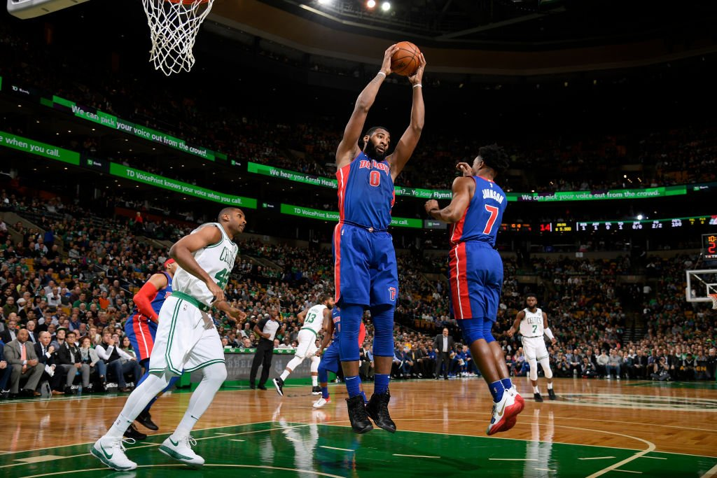Andre Drummond is looking to lead the league in RPG for a 2nd time. Two Pistons players have won multiple rebounding titles, Dennis Rodman (2 with Detroit) and Ben Wallace (2).
