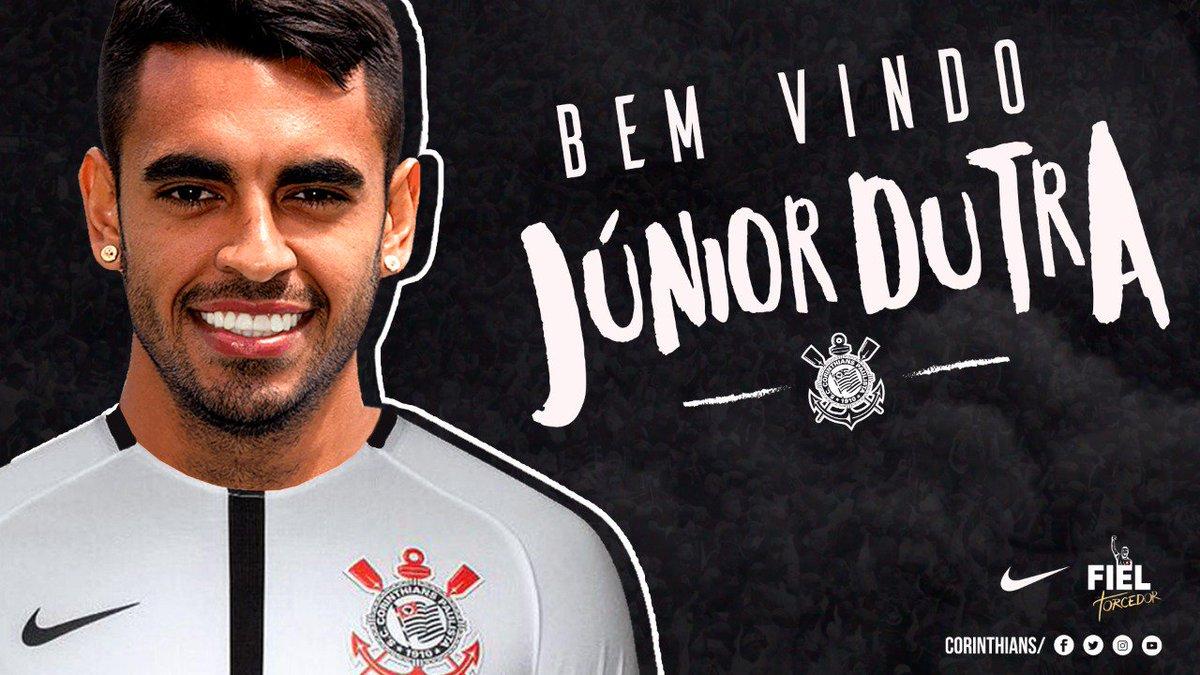 Atacante novo na nossa área! Seja bem-vindo, Júnior Dutra!  #BemVindoJuniorDutra #VaiCorinthians