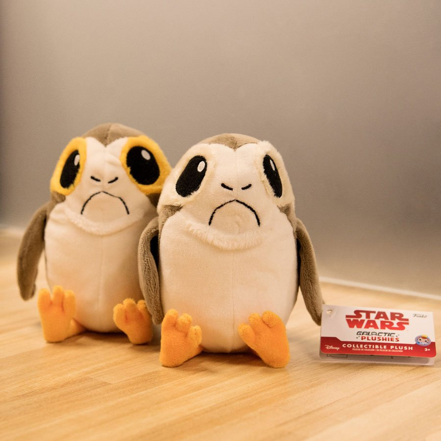RT & follow @OriginalFunko for the chance to win a pair of Porg Galactic Plushies! We're picking SIX winners! #porg https://t.co/DRRa2XSYl7