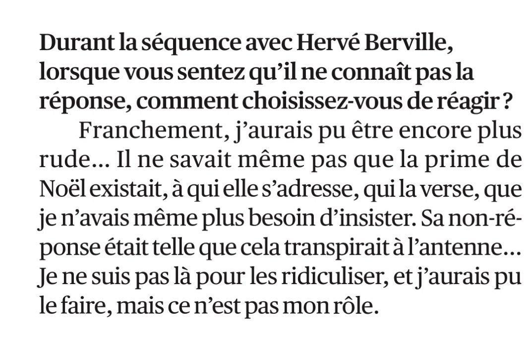 .@JJBourdin_RMC majestueux et tout en finesse après son interview avec @HerveBerville et la séquence de la «prime de Noël» (in @Lopinion_fr)