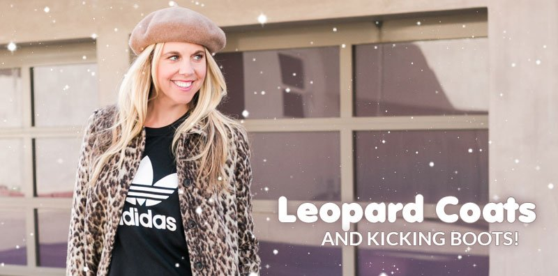 Leopard Coats and Kicking Boots!  FINALLY, it is cold enough here in Cali to put on a cool coat and rock some fi...
