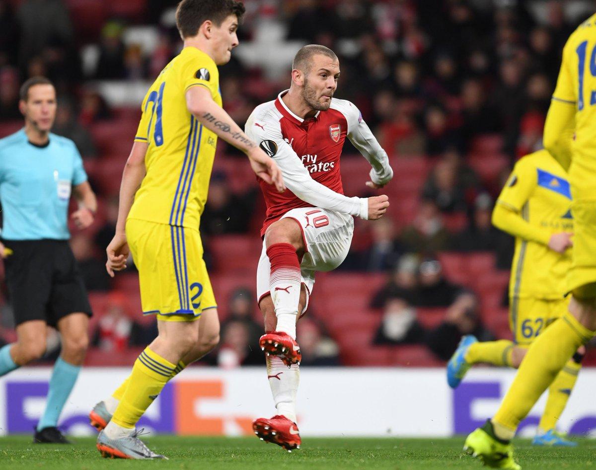 Arsenal sin Alexis goleó en la Europe League