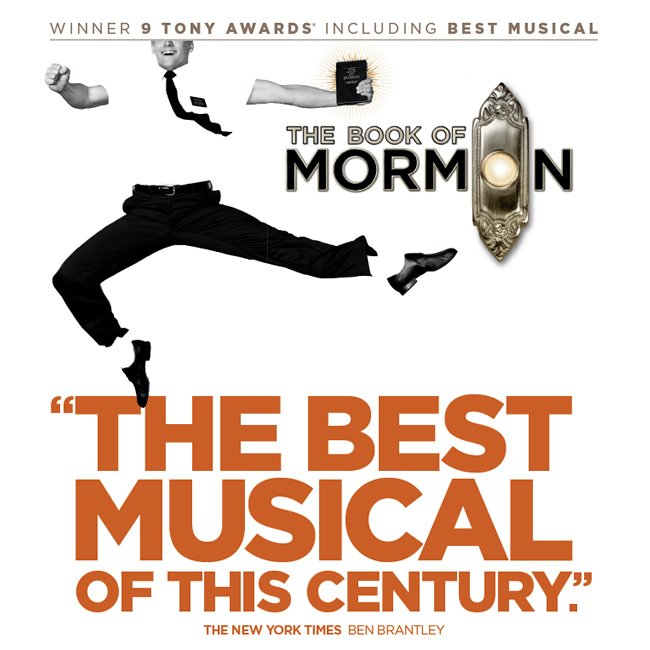 Have you heard?!? The @BookofMormon, winner of nine Tony Awards including Best Musical, is playing a limited, one week engagement through Dec. 10 at the @StrazCenter in Tampa! I saw it last night and laughed my ASH off!!!  #hosted #Broadway #TampaBay<br>http://pic.twitter.com/IbPoKPKkEw