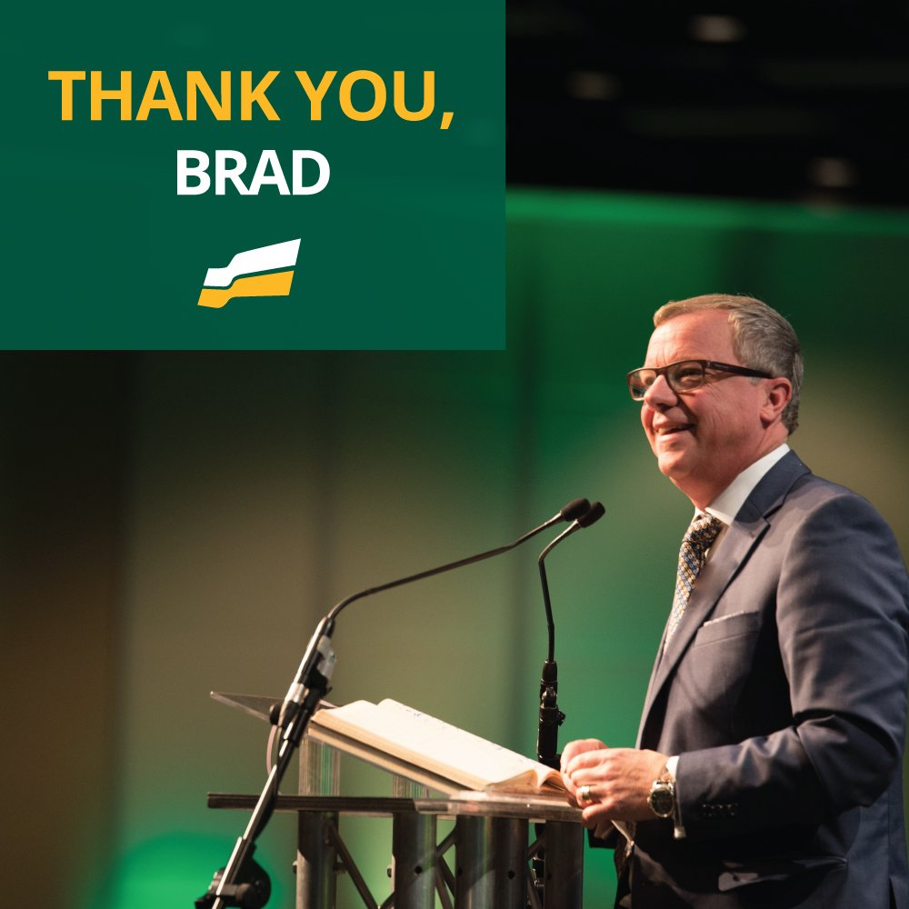 On this, @PremierBradWall's last day in the Leg Assembly chambers, we say #thankyoubrad for your faithful service to the people of Swift Current as MLA and to all Saskatchewan people as Premier. #skpoli