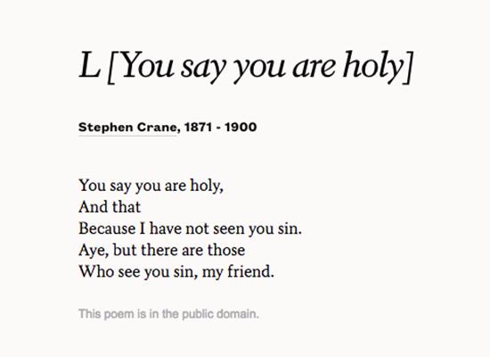 Stephen Crane Poems 3