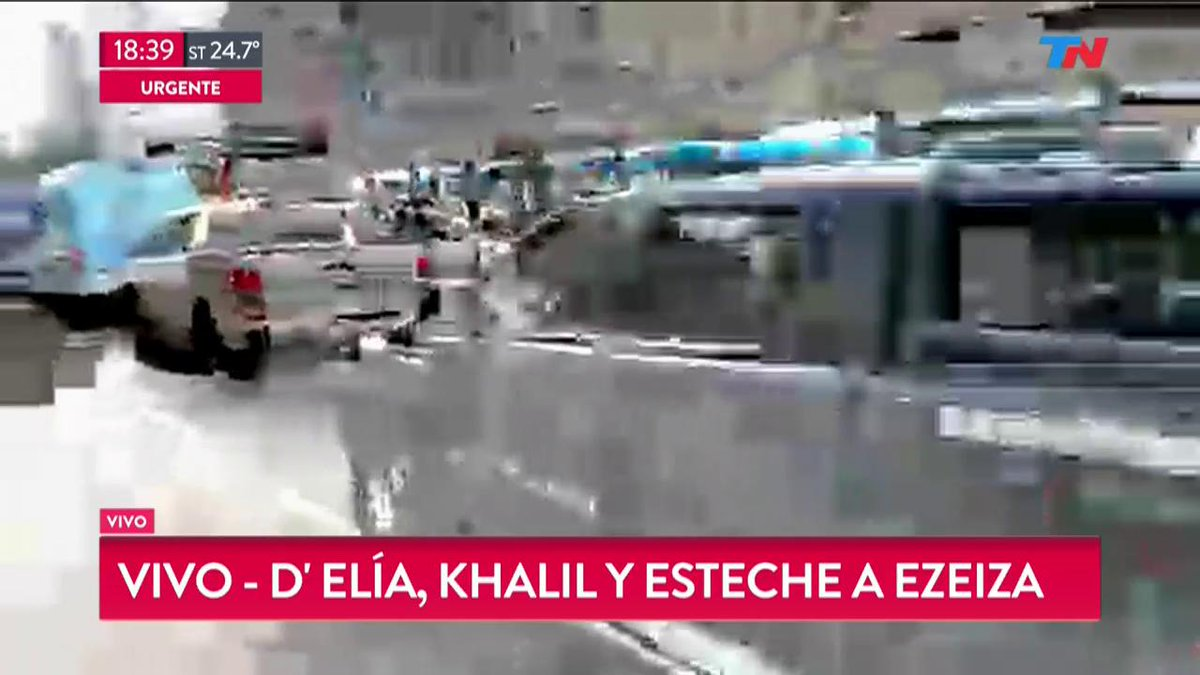 EN VIVO - Trasladan a D'Elía, Khalil y Esteche a Ezeiza https://t.co/2JLP7QMERq