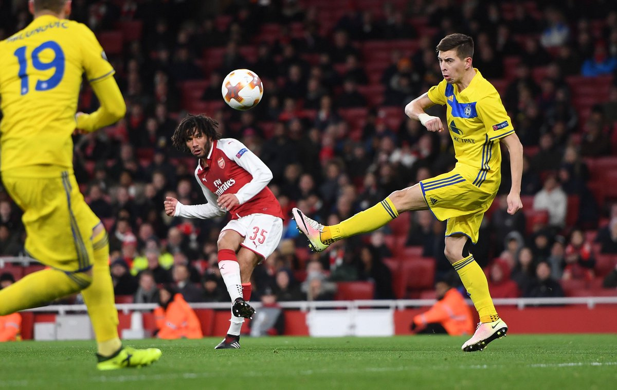 🇪🇬 Finish, @ElNennyM 🎯  #AFCvBATE